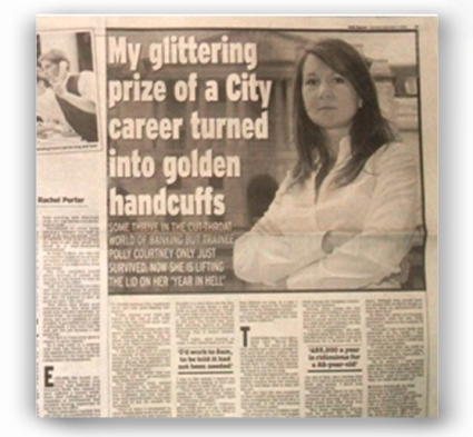 Daily Express - My glittering prize of a City career turned into golden handcuffs