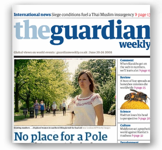 The Guardian Weekly - No place for a Pole