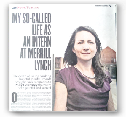 Independent - My so-called life as an intern at Merrill Lynch - http://www.independent.co.uk/news/uk/home-news/my-socalled-life-asan-internat-merrill-lynch-8782735.html
